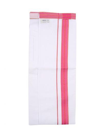 KKV Velcro Men's Cotton Dhoti - ODA2281140