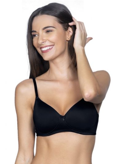 Womens Solid Paded Non Wired Bra - OEC5231031