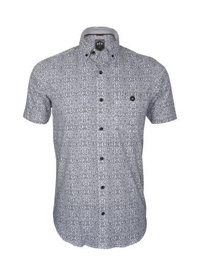 ZF Men's Readymade Casual Cotton Shirt - NGB1034996-EKM