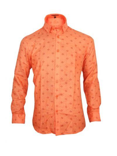 Zulus Festin Men's Readymade Formal Linen Shirt - OAD1986537-EKM