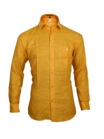 Zulus Festin Men's Readymade Formal Linen Shirt - OAD1983731