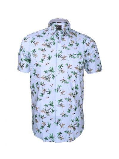 ZF Men's Readymade Casual Cotton Shirt