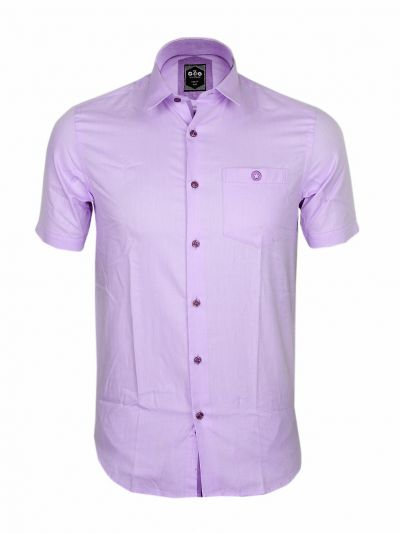 ZF Men's Readymade Casual Cotton Shirt With Matching Color Mask-EKM
