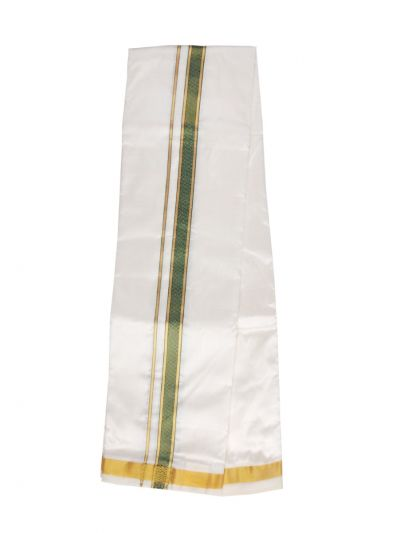 Vivaha Fancy Border Silk Dhoti - ODA2497672