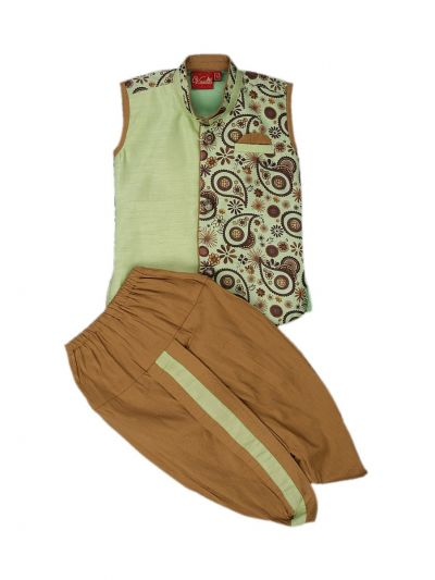 Infant Boys Readymade Dhoti Set - MEA4970934