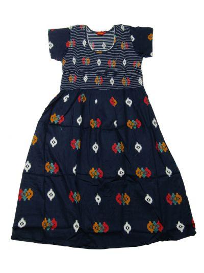 NGA7221319 - Semi Cotton Printed Nightwear