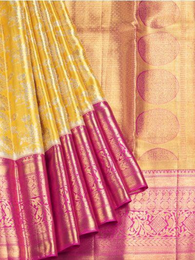 NED2856258- Vivaha Goddess Pure Silk Saree