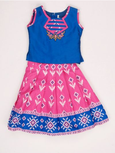MED9224357 - Girls Fancy Synthetic Frock