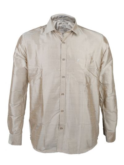 Zulus Festin Men's Pure Silk Shirt - ZSFS008