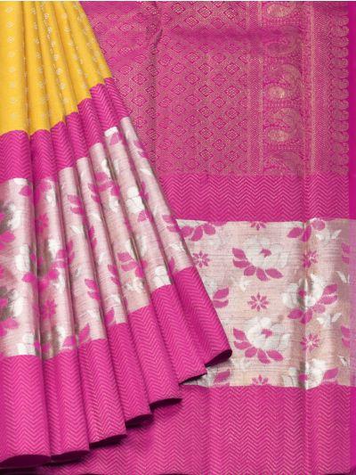 Vivaha Goddess Pure Kanchipuram Silk Saree - NEC2471104