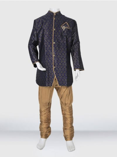 MR HOOKS Exclusive Boys Sherwani Set - MIB3391037