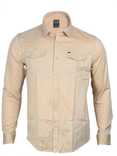 ZF Men's Casual Cotton Shirt - MGA8055786