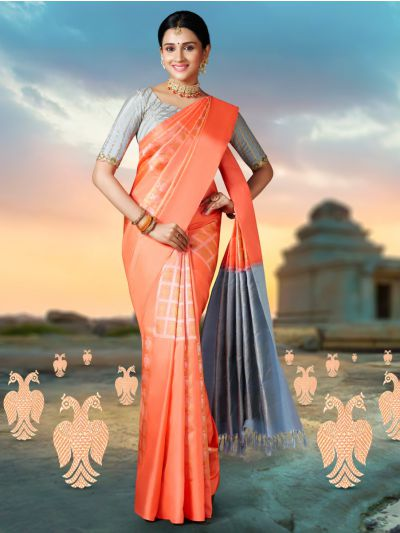 Vivaha Goddess Wedding Pure Kanchipuram Silk Saree