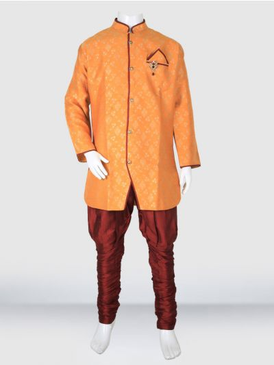 MR HOOKS Exclusive Boys Sherwani Set - MIB3391024