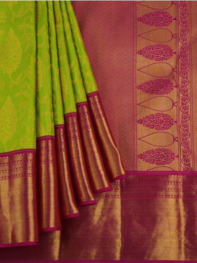Vivaha Wedding Pure Kanchipuram Silk Saree - NDB0954795