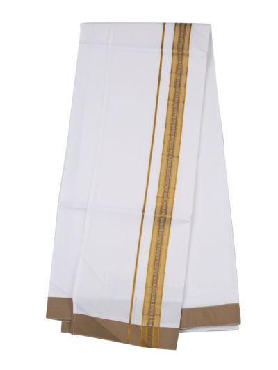 KKV Velcro Men Cotton Dhoti - NJA8913552