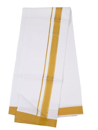 KKV Velcro Men Cotton Dhoti - NJA8913554
