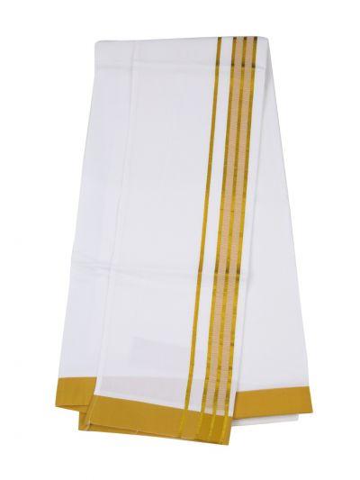 KKV Velcro Men Cotton Dhoti - NJA8913594