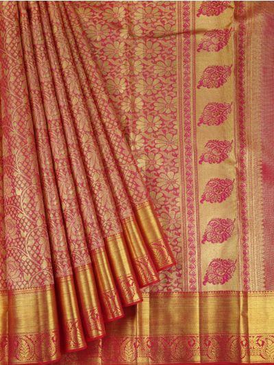 Vivaha Wedding Pure Kanchipuram Silk Saree - NEC2321477