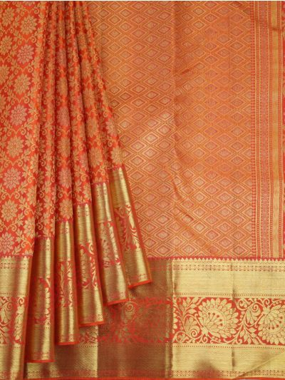 Vivaha Wedding Pure Kanchipuram Silk Saree  - NEC2301308