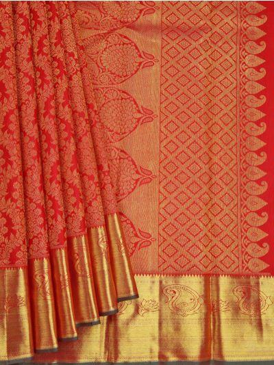 Vivaha Goddess Pure Kanchipuram Silk Saree - NJB0049371