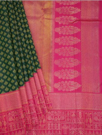 Vivaha Goddess Pure Kanchipuram Silk Saree -NLA5623615