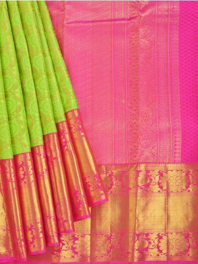 Vivaha Goddess Pure Kanchipuram Silk Saree - NEC2301278