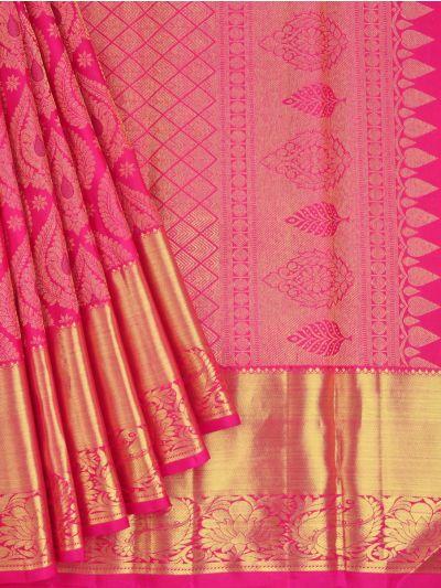 Vivaha Goddess Pure Kanchipuram Silk Saree - NEC2397396