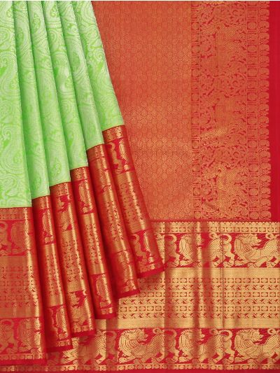 Vivaha Goddess Pure Kanchipuram Silk Saree - NKB3138126