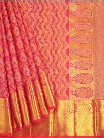 Vivaha Goddess Pure Kanchipuram Silk Saree - NLA4837412