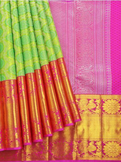 Vivaha Wedding Pure Kanchipuram Silk Saree - NJB9935362