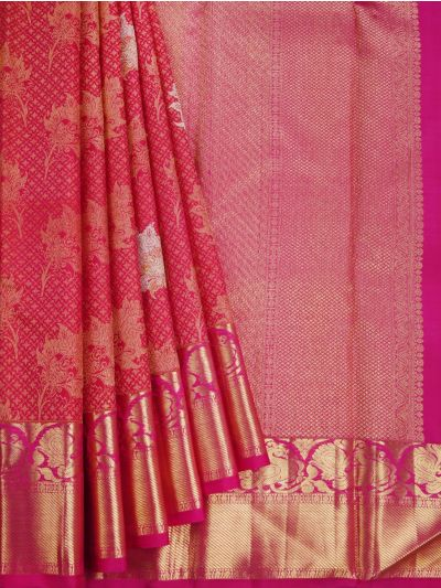 Goddess Vivaha Wedding Pure Silk Saree - NLA4957416