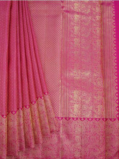 Goddess Vivaha Wedding Pure Silk Saree - NDB0915893