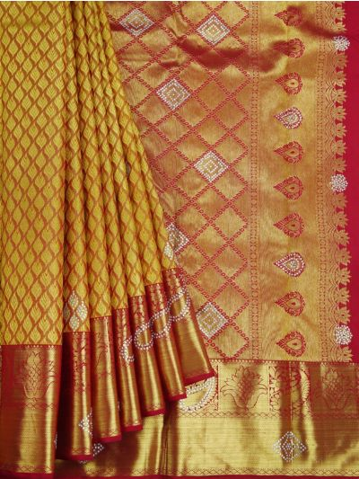 Goddess Vivaha Wedding Pure Silk Saree - NJD1847084
