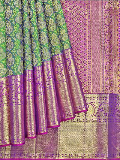 Vivaha Wedding Pure Kanchipuram Silk Saree - NJB9935389