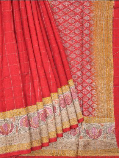 Chanderi Silk Saree - OAA0599504