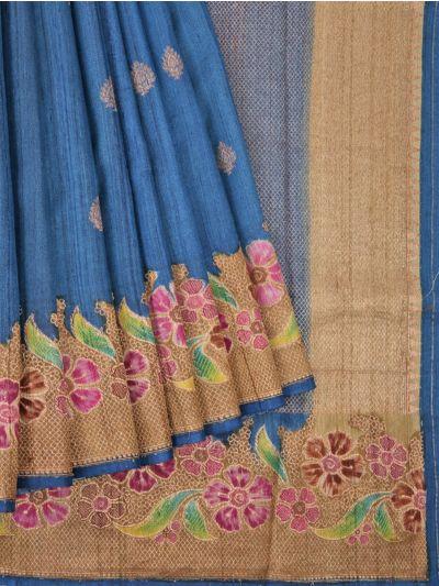 Chanderi Silk Saree - OAA0599508