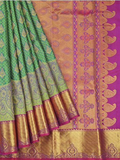 Vivaha Wedding Silk Stone Work Saree - OAC1818292