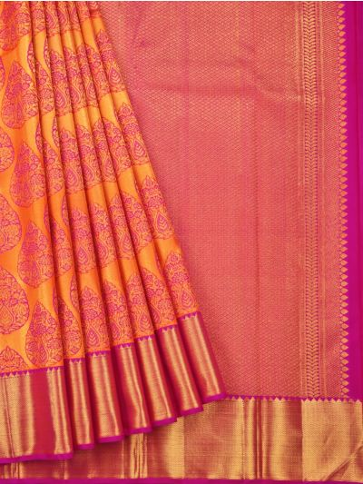 Vivaha Goddess Pure Kanchipuram Silk Saree - OEA4827925