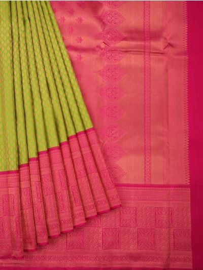 Vivaha Goddess Pure Kanchipuram Silk Saree - ODD3849881