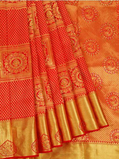 Vivaha Wedding Silk Stone Work Saree - OAA0012946