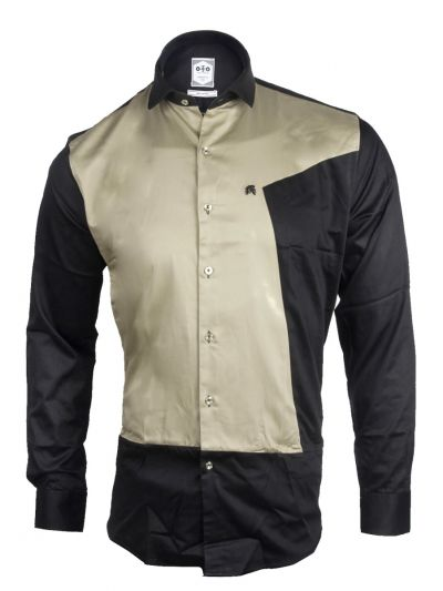 ZF Men's Casual Cotton Shirt-MFB5767705