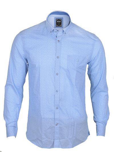 ZF Men's Casual Cotton Shirt  - MFB5949218