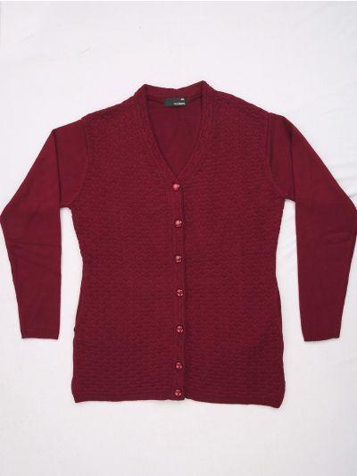 Women's Solid Woolen Sweater - MFB4314082