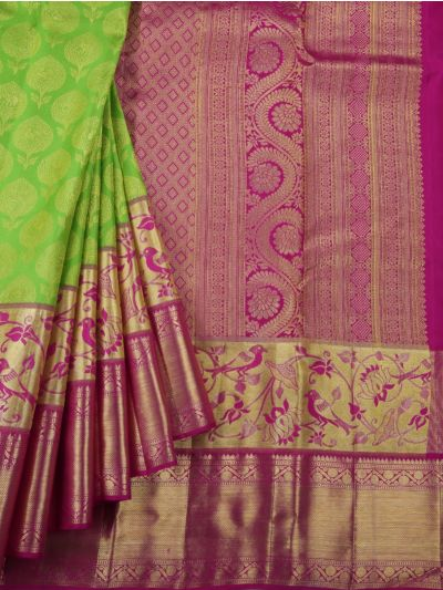 Vivaha Goddess Pure Kanchipuram Silk Saree - NJA9606616