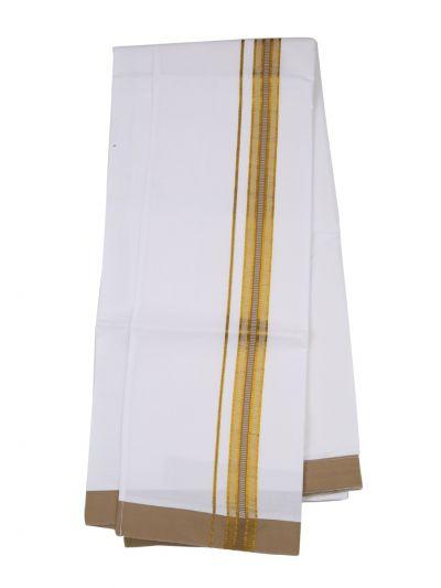 KKV Velcro Men Cotton Dhoti - NJA8913570