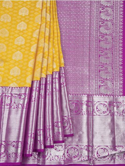 Vivaha Goddess Pure Kanchipuram Silk Saree - NDB0915254