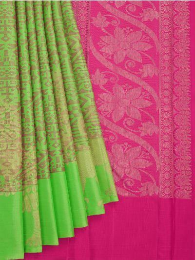 Goddess Vivaha Wedding Pure Silk Saree - NFD5185389