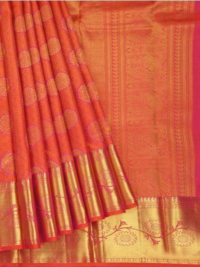 Vivaha Goddess Pure Kanchipuram Silk Saree - NKB2983210