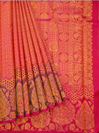 Vivaha Goddess Pure Kanchipuram Silk Saree - ODD3447137